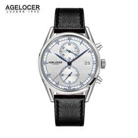 Agelocer Trinidad SS/White/LE - Cal.A2500 Chrono Quartz