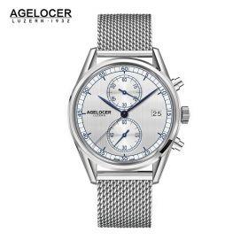 Agelocer Trinidad SS/White/SS - Cal.A2500 Chrono Quartz