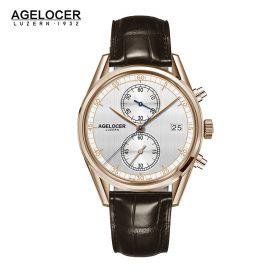 Agelocer Trinidad RG/White/LE - Cal.A2500 Chrono Quartz