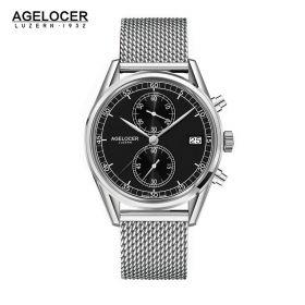 Agelocer Trinidad SS/Black/SS - Cal.A2500 Chrono Quartz