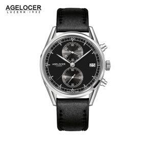 Agelocer Trinidad SS/Black/LE - Cal.A2500 Chrono Quartz