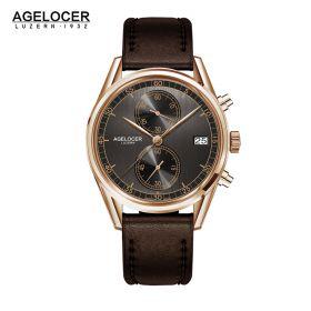 Agelocer Trinidad RG/Grey/LE - Cal.A2500 Chrono Quartz