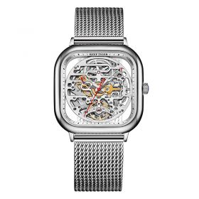 Limited Edition M Series Stainless Steel Square Watch Automatic Waterproof Mechanical watches RGA9075