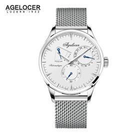 Agelocer Budapest  SS/White/SS - Cal.A3350 Auto