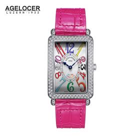Agelocer Engagement SS/Diam/White/LE - Cal.A3350 Auto