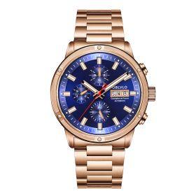OBLVLO CM Series Men Designer Watch Rose Gold Automatic Watch CM-PLP