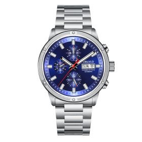 OBLVLO CM Series Mens Designer Watches Steel Automatic Watch CM-YLW