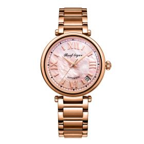 Love Melody & Luthier Rose Gold Pink Dial Automatic Ladies Watch RGA1595