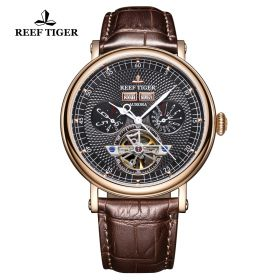 Artist Limner RG/Black/Brown LE - Reef Tiger RT6300 Auto