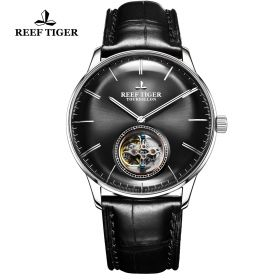 Seattle Tourbillon SS/Black/Black LE - Reef Tiger Tourbillon Auto