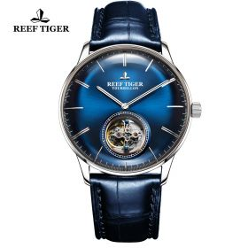Seattle Tourbillon SS/Blue/Blue LE - Reef Tiger Tourbillon Auto