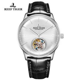 Seattle Tourbillon SS/White/Black LE - Reef Tiger Tourbillon Auto