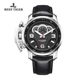 Aurora Rally S2 SS/Blk/LE - Reef Tiger RT614 Quartz