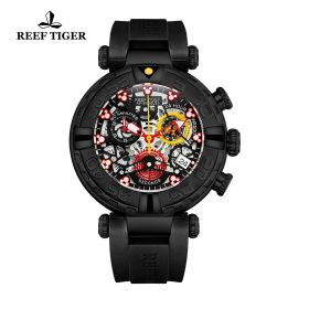 Aurora Air Bubbles PVD/Black/RU - Reef Tiger RT685 Quartz