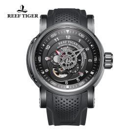 Aurora Machinist PVD/Black/RU - Reef Tiger 7100 Auto