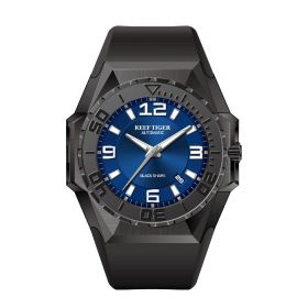 Aurora Black Shark Sport Watches All Black Dive Watches Automatic Watches RGA6903