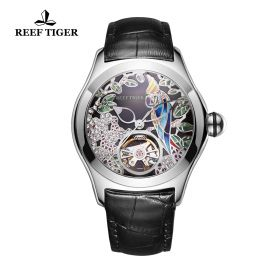 Aurora Parrot  SS/Black/LE - Reef Tiger 5900 Automatic
