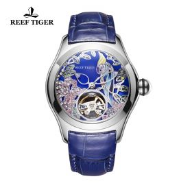 Aurora Parrot  SS/Blue/LE - Reef Tiger 5900 Automatic