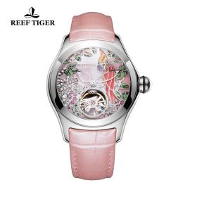 Aurora Parrot  SS/Pink/LE - Reef Tiger 5900 Automatic