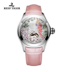 Aurora Parrot  SS/White/LE - Reef Tiger 5900 Automatic