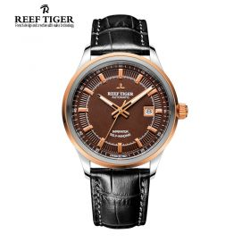 Classic Imperator SS/RG/Brown/LE - RT8510 Auto