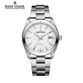 Classic Perpetual II Date SS/Whit/SS - RT4101 Auto