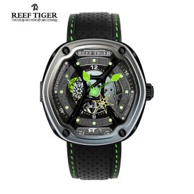 Gaia's Light PVD/Green/BLK Skeleton/LE - RT7200