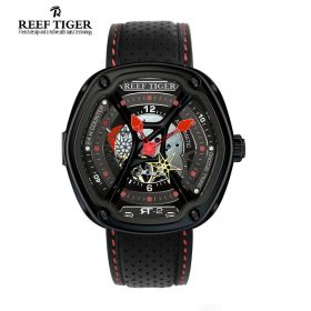 Gaia's Light PVD/Red/BLK Skeleton/LE - RT7200